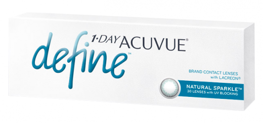 1 DAY ACUVUE DEFINE with LACREON (30 линз) - Natural Sparkle