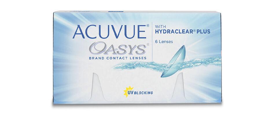 Контактные линзы ACUVUE OASYS with HYDRACLEAR PLUS (6 линз) фото