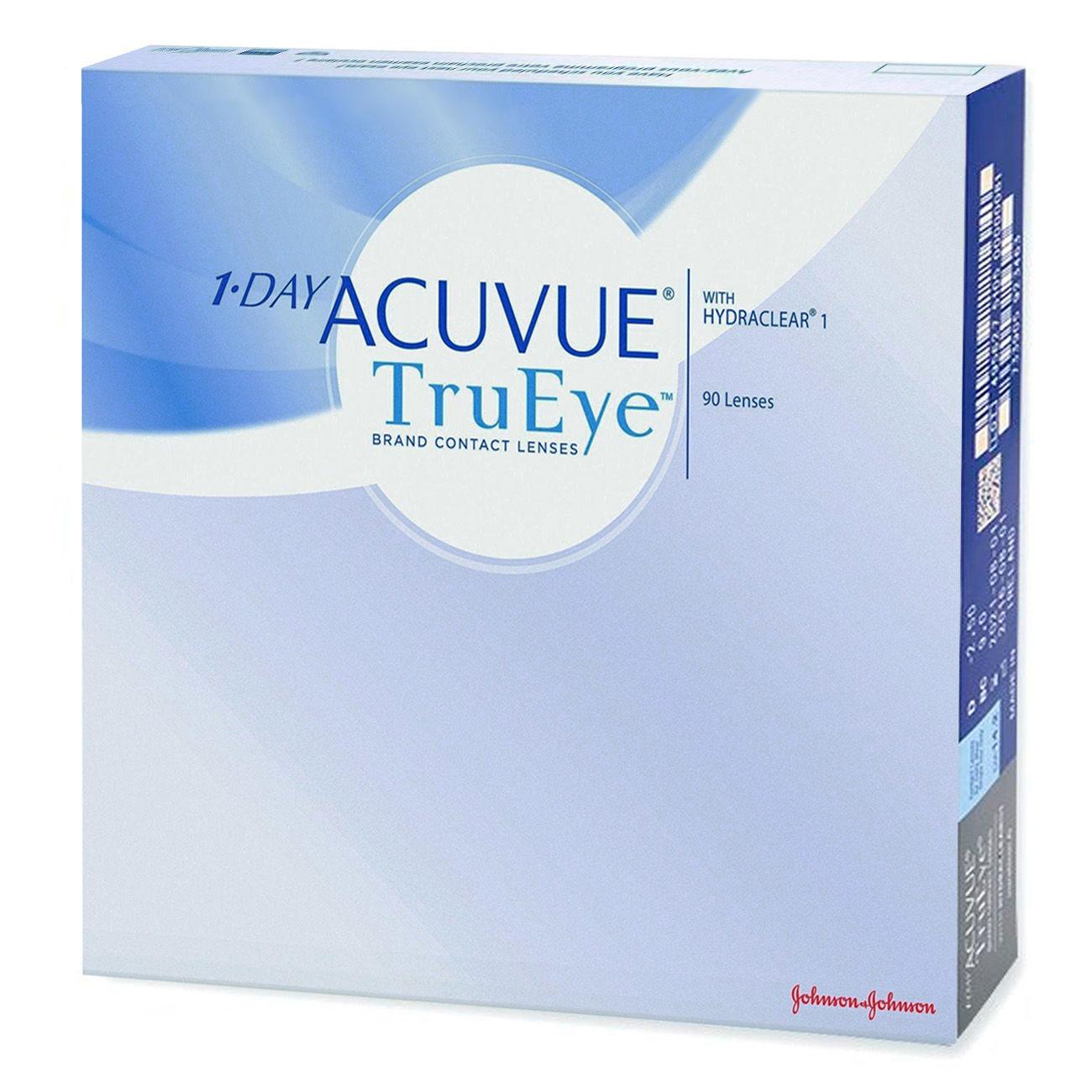 Контактные линзы 1 DAY ACUVUE TruEye (90 линз)