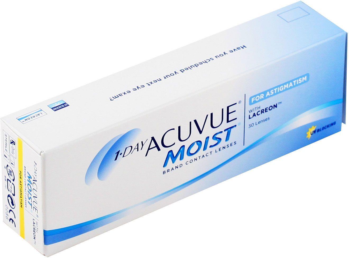 bba0ca38c7f5 Купить контактные линзы 1 DAY ACUVUE MOIST for ASTIGMATISM (30 линз ...