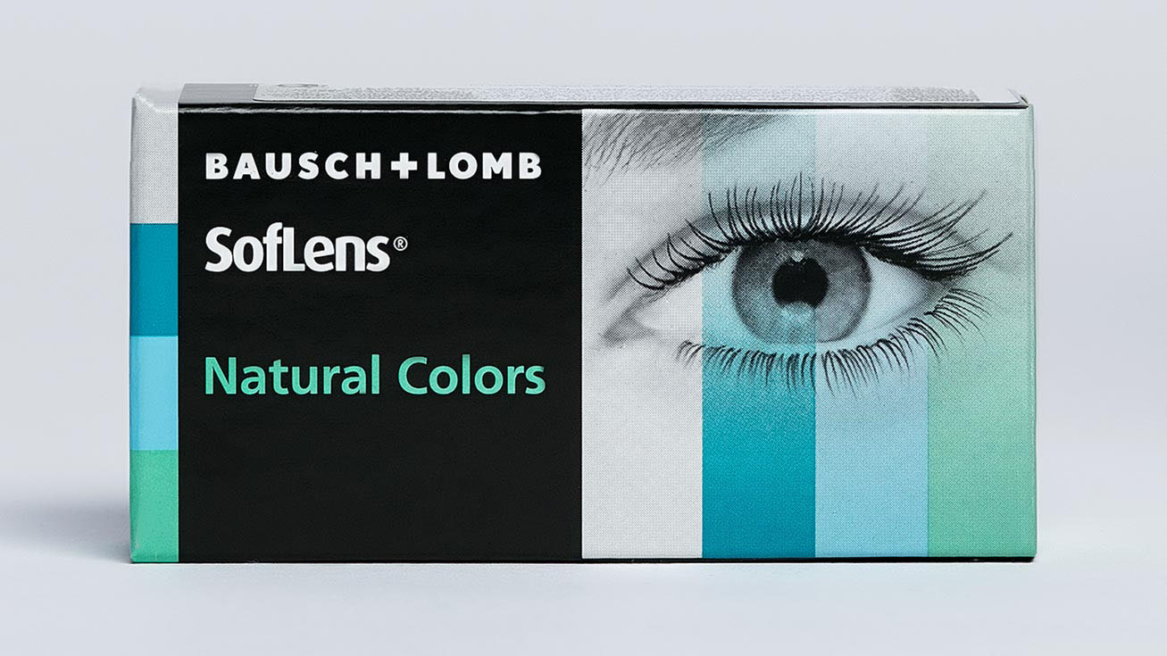 Контактные линзы SofLens Natural Colors 0,00 (2 линзы)