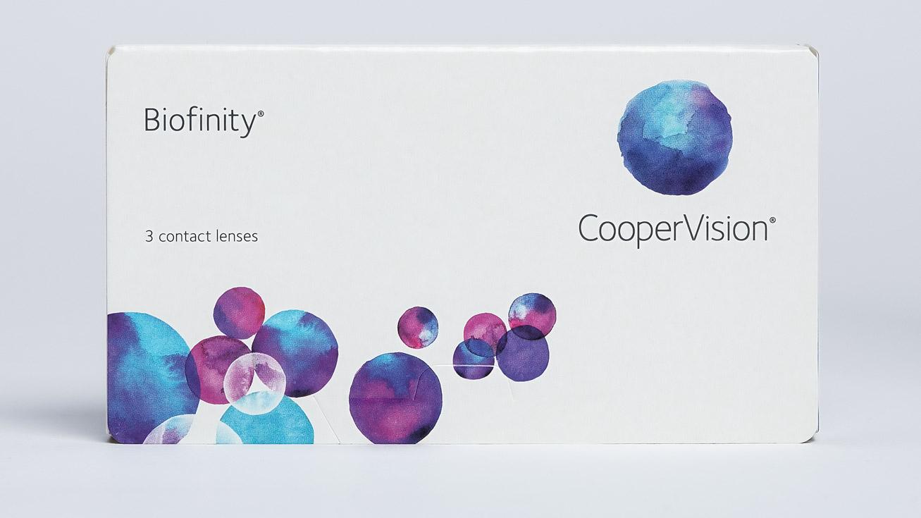 Контактные линзы Biofinity (3 линзы) фото