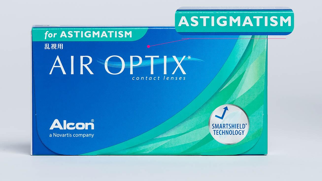 Контактные линзы AIR OPTIX For Astigmatism (3 линзы) фото