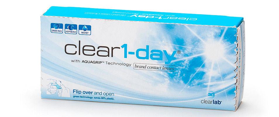 Контактные линзы Clear 1-day (30 линз)