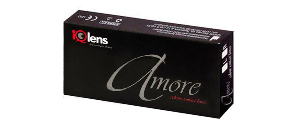 Контактные линзы Amore 0,00 (2 линзы) фото
