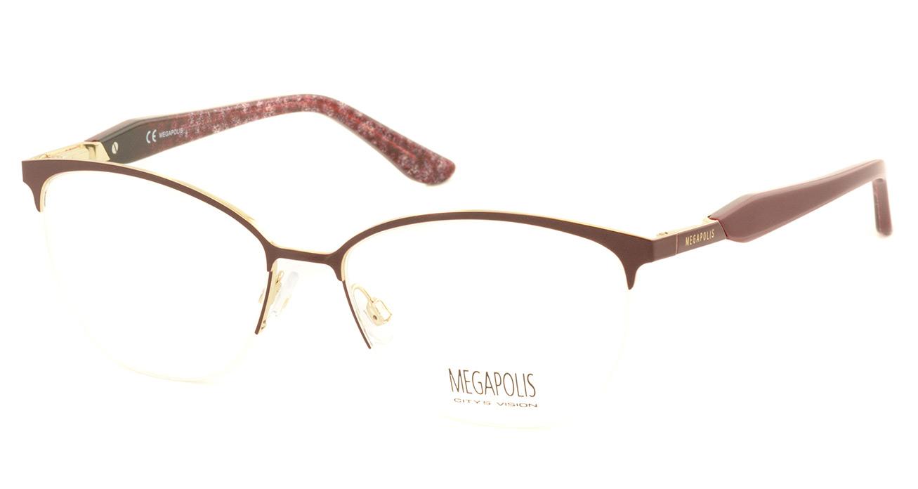 Оправа MEGAPOLIS 258 bordo фото