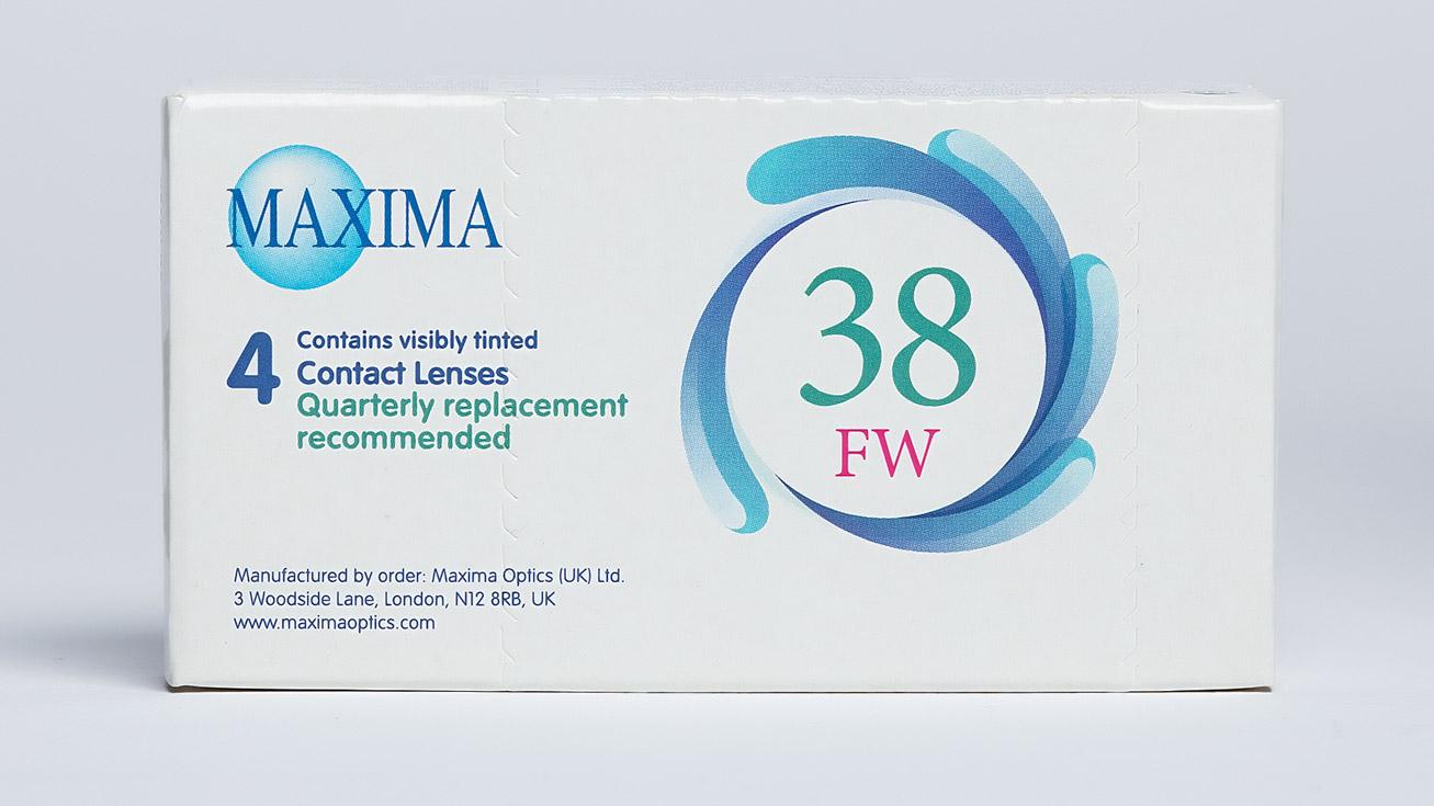 Контактные линзы Maxima 38FW (4 линзы) фото