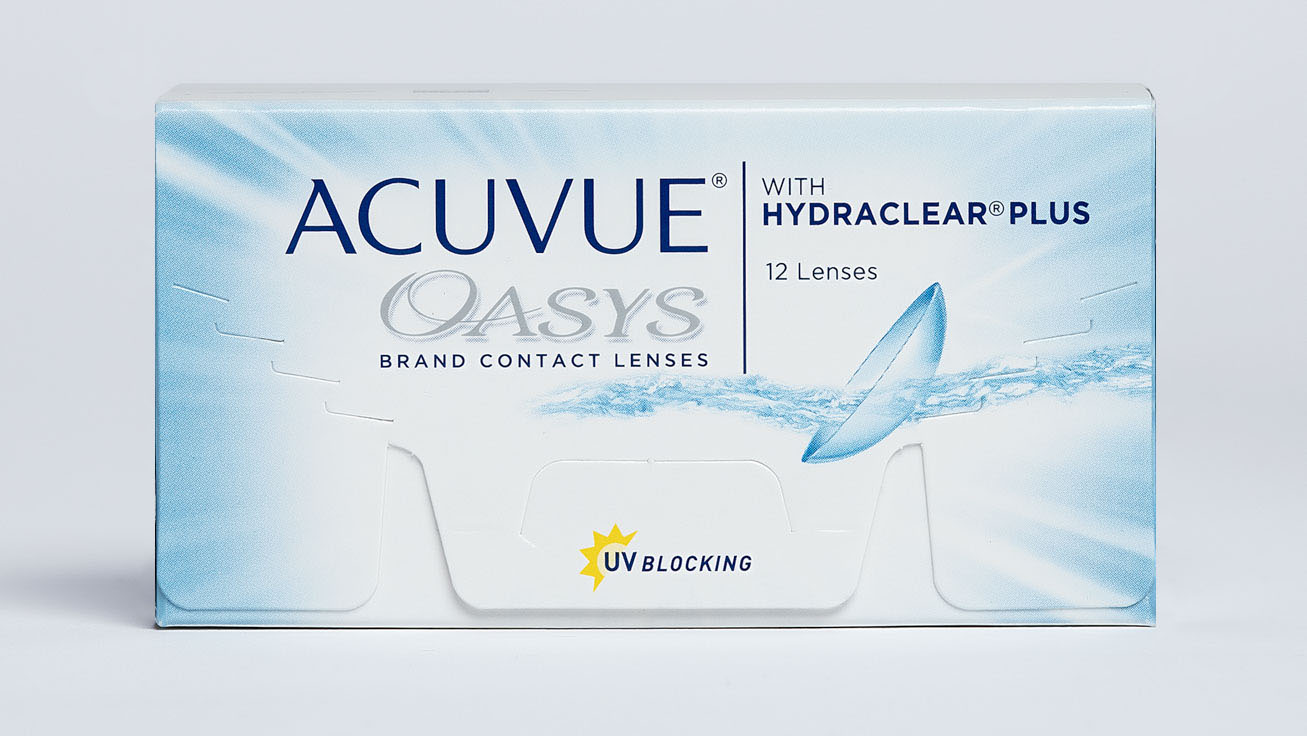 Контактные линзы ACUVUE OASYS with HYDRACLEAR PLUS (12 линз) фото