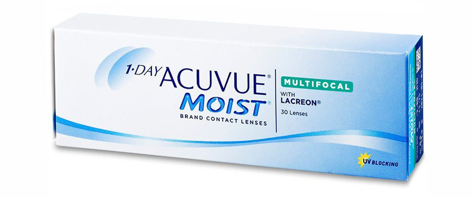 Контактные линзы 1 DAY ACUVUE MOIST MULTIFOCAL (30 линз)  фото