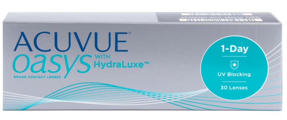 Контактные линзы ACUVUE OASYS with HydraLuxe (30 линз)