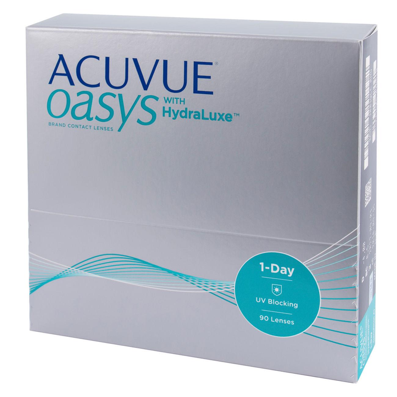 Контактные линзы ACUVUE OASYS with HydraLuxe (90 линз)