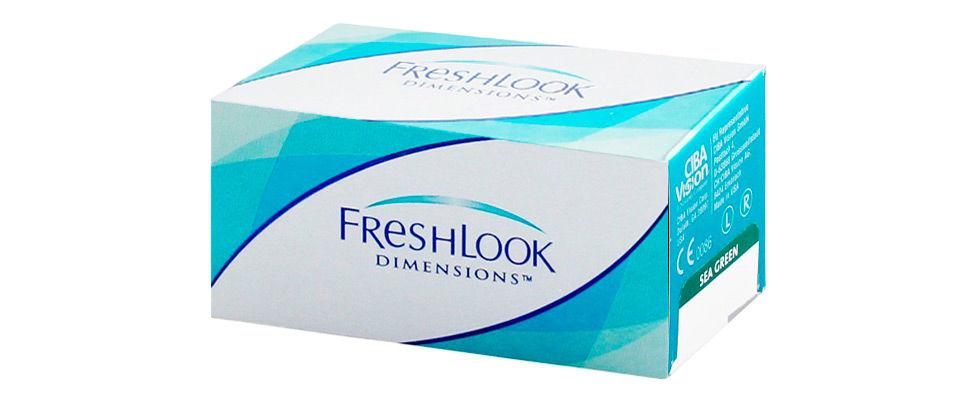 Контактные линзы FreshLook Dimensions (6 линз) фото