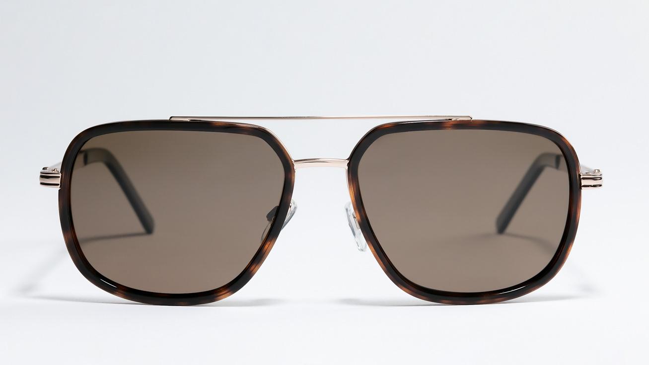 Солнцезащитные очки MEGAPOLIS 208 BROWN купить онлайн с доставкой в интернет-магазине Очкарик