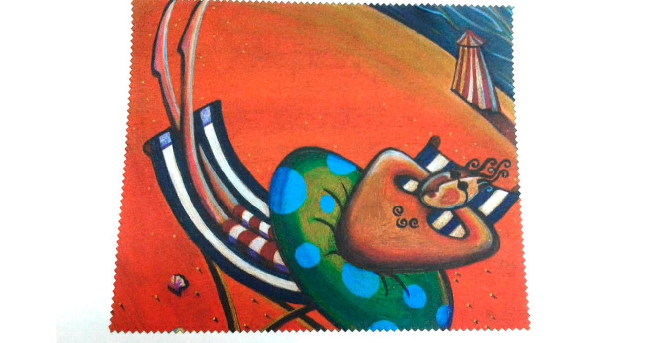 Салфетка микрофибра с рисунком