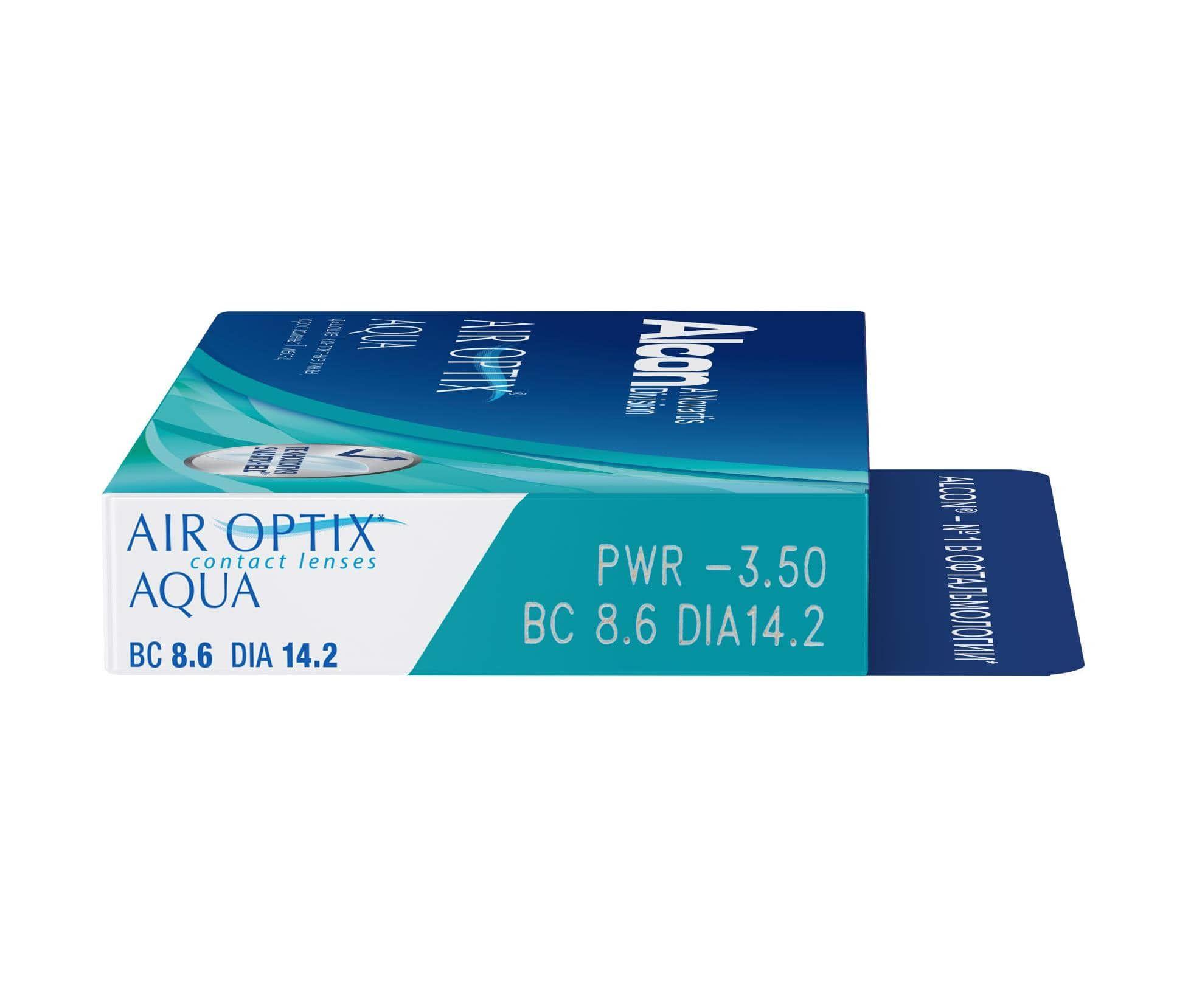 565287ef83af Купить контактные линзы AIR OPTIX AQUA (3 линзы) по выгогдным ценам ...