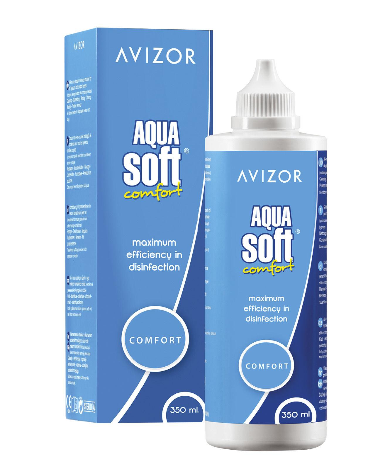 Раствор Avizor Aquasoft (350 ml) фото