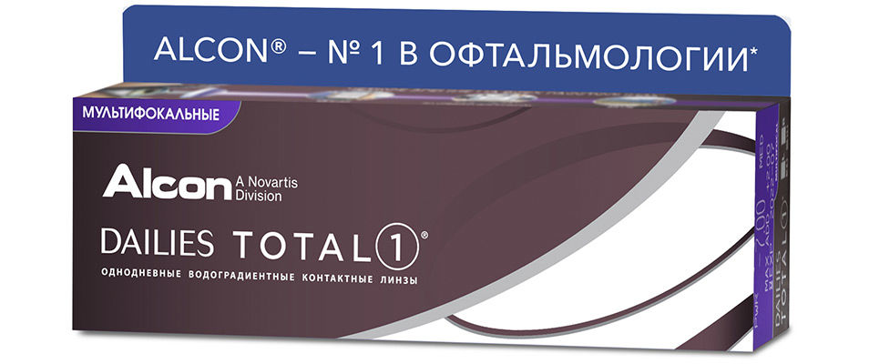 Контактные линзы Dailies Total 1 Multifocal  фото