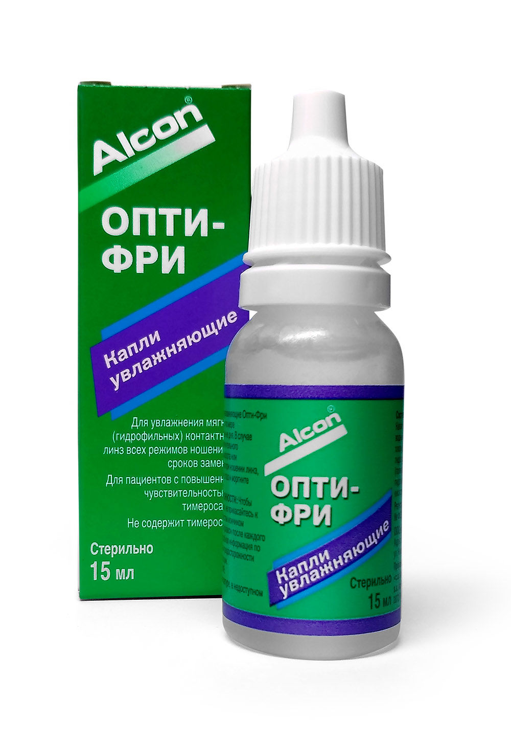 Капли Opti-Free rewetting drops (15 ml)