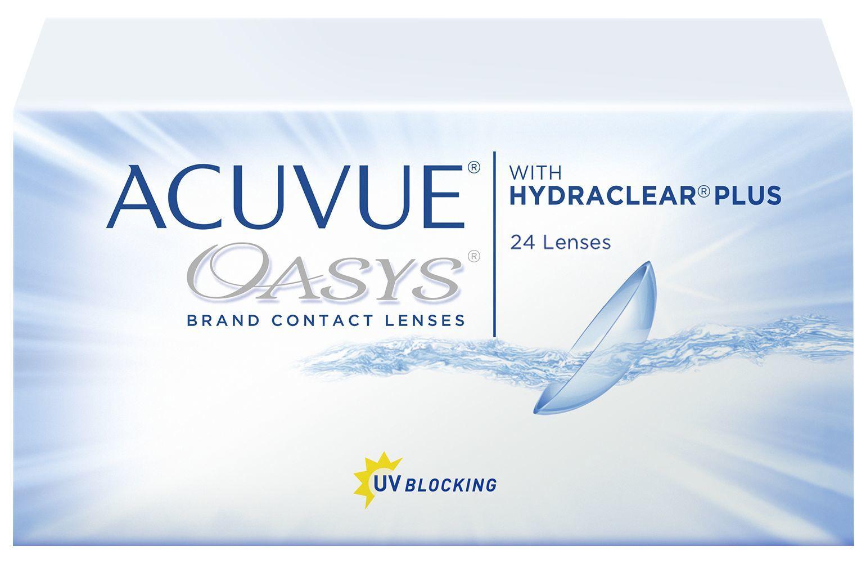 Контактные линзы ACUVUE OASYS  with HYDRACLEAR PLUS (24 линзы)