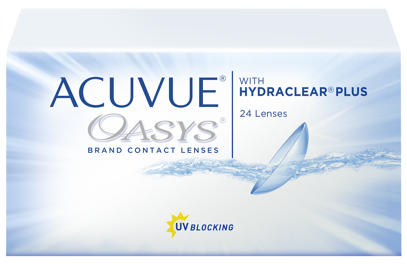 Hydraclear plus acuvue