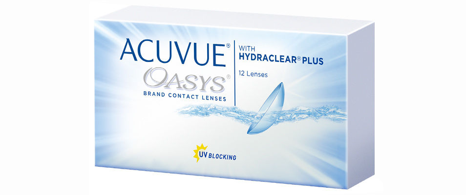 Контактные линзы ACUVUE OASYS  with HYDRACLEAR PLUS (12 линз)