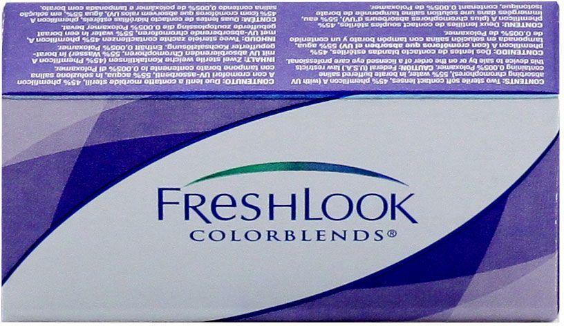 Контактные линзы freshlook