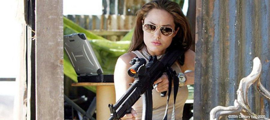 Военный полигон Анджелины Джоли