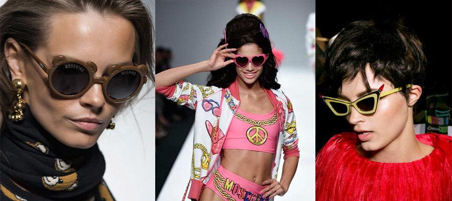 Бренды в салоне «Очкарик» - солнезащитные очки от Moschino