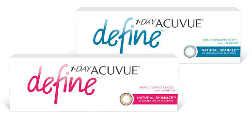 1 DAY ACUVUE DEFINE with LACREON (30 линз) - Natural Shimmer