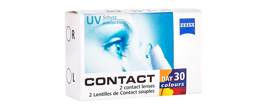 Zeiss Contact Day 30 Colour (2 линзы)